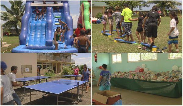 Journée récréative à l'école primaire Tehaehaa de Tiarei