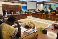 L'assemblée de la province îles le 27 mai, à Wé.