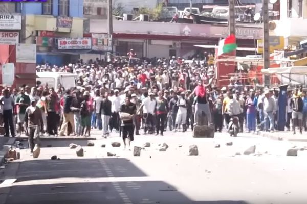 Manifestation du 21 avril 2018 à Antananarivo