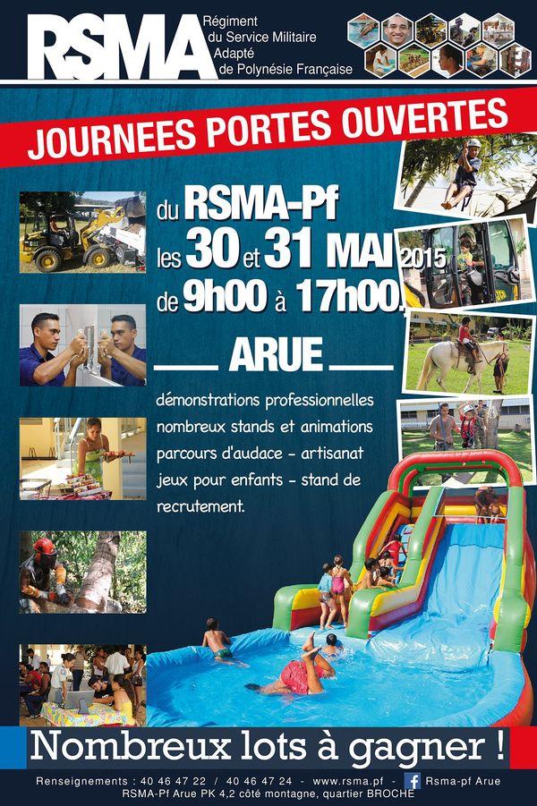 Portes ouvertes les 30 et 31 mai