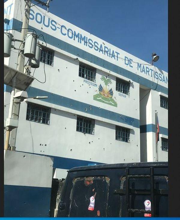 Haïti sous-commissariat de Martissant