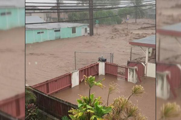L'archipel d'Hawaii frappé par des pluies torrentielles
