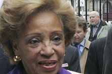 Lucette Michaux-Chevry, née le 5 mars 1929 à Saint-Claude (Guadeloupe).