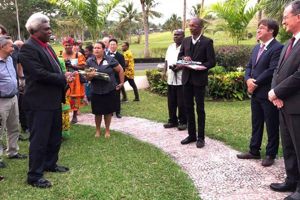 Ouverture du onzième forum francophone du Pacifique, Port-Vila, 5 septembre 2018