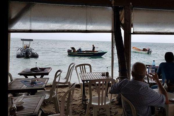 Restaurant vue sur mer
