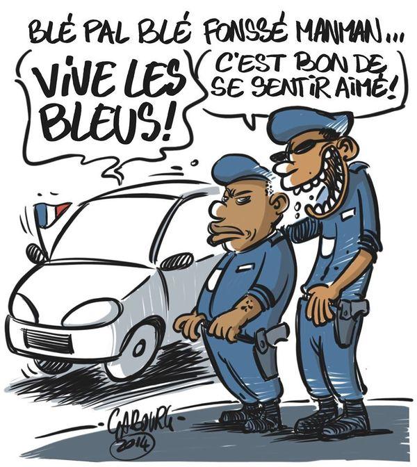 Parodie police F. Gabourg