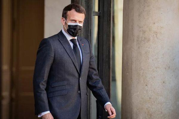 Emmanuel Macron, président de la République française 300321