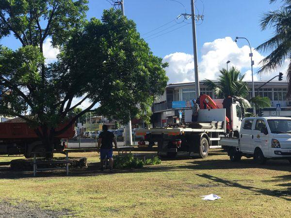 Préparatifs du scrutin à Papeete