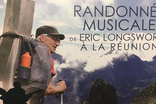 Le violoncelliste Eric Longsworth a entamé sa randonnée musicale à La Réunion, ce mercredi 5 septembre.