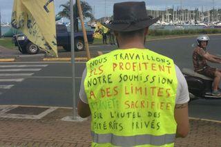 Gilets jaunes : 10e mobilisation à Nouméa