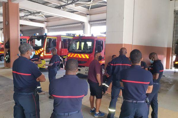Les pompiers en grève