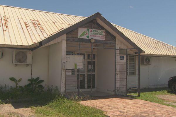 La chambre d'agriculture de la Guyane