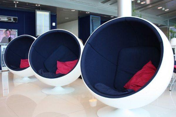 Un salon pour les ultra-riches à l'aéroport de Lax