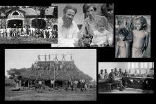 Paul Émile Pasteur et sa famille lors de leur premier séjour en Nouvelle-Calédonie, remplaçant de Maurice Leenhardt à Do Néva