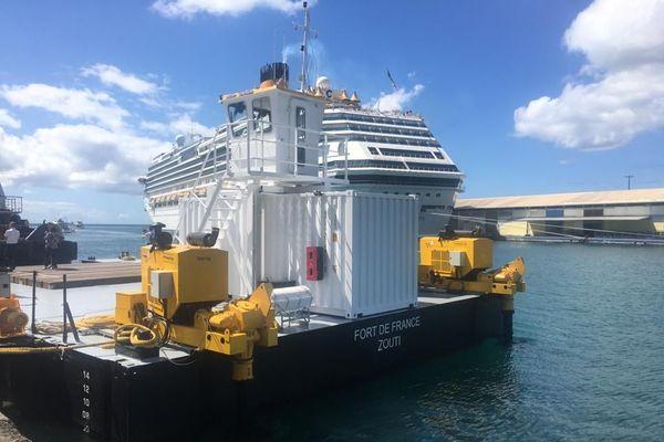 Remorqueur port Martinique