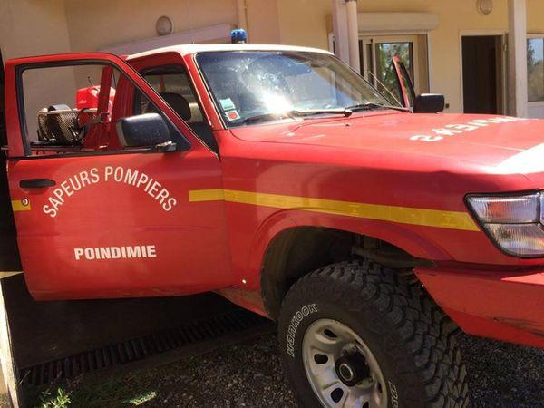 Poindimié : véhicule de pompier