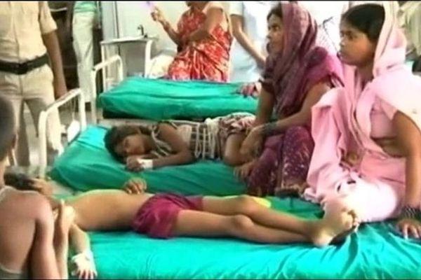Mort de 25 enfant par intoxication alimentaire en Inde