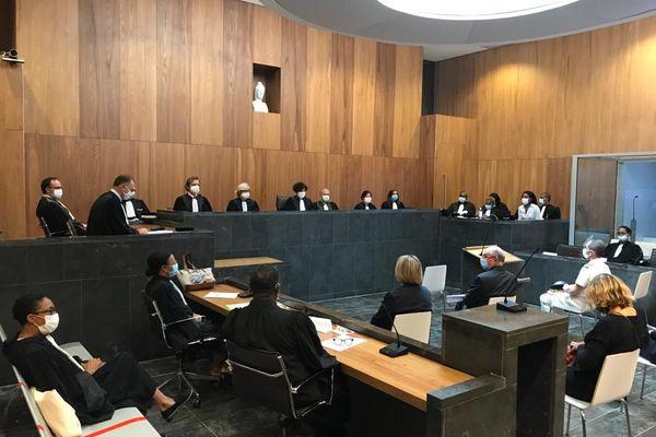 Rentrée solennelle du tribunal judiciaire de Pointe à Pitre 1