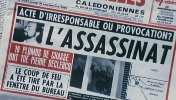 Une des Nouvelles calédoniennes, 21 septembre 1981