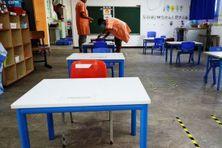 Un protocole sanitaire de lutte contre le coronavirus s'applique dans les écoles de La Réunion.