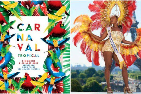 Carnaval Tropical De Paris 2017 Parade Sur Les Champs Elysées Outre Mer