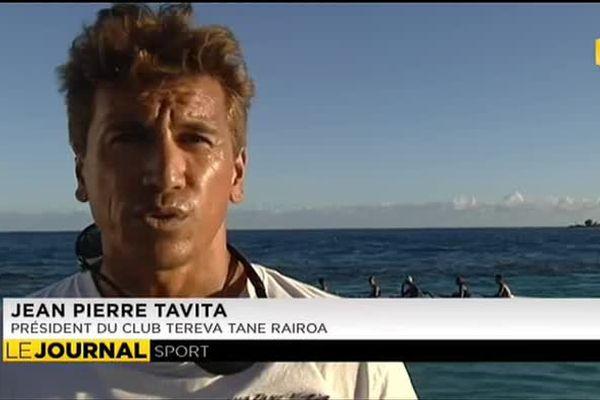 Rangiroa en course pour la Tetiaroa royal race