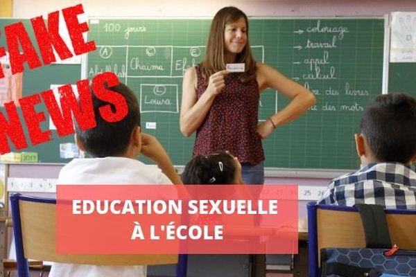 Non, la sexualité ne sera pas enseignée en maternelle