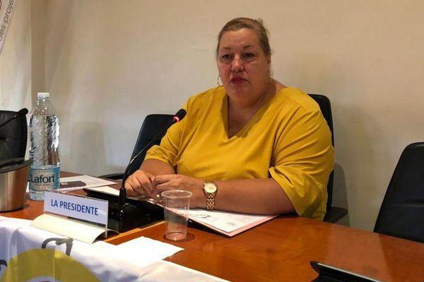 Sophie Charles maire de Saint-Laurent présidente de la CCOG
