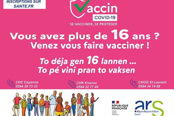 Vaccination à 16 ans
