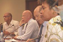 Les opposants (dont des membres de la majorité), contestent l'attitude d'Alfred Marie-Jeanne, le président du conseil exécutif.