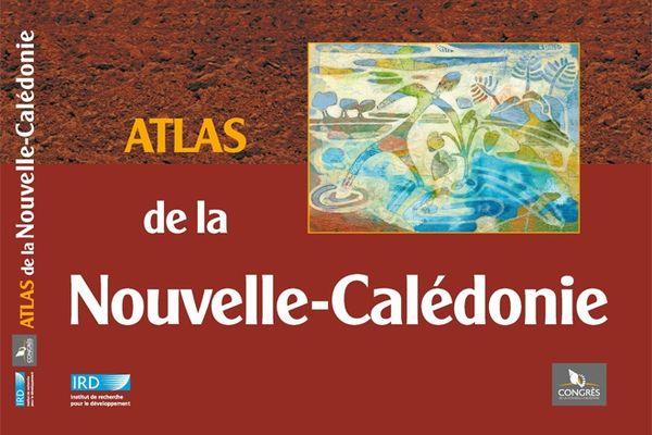 Couverture de l'Atlas de la Nouvelle-Calédonie