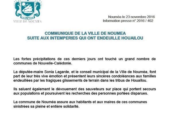 Sonia Lagarde, députée-maire de Nouméa
