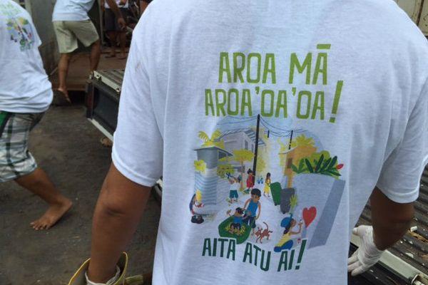 """Opération """"Je débarrasse mon quartier"""" à Pirae"""