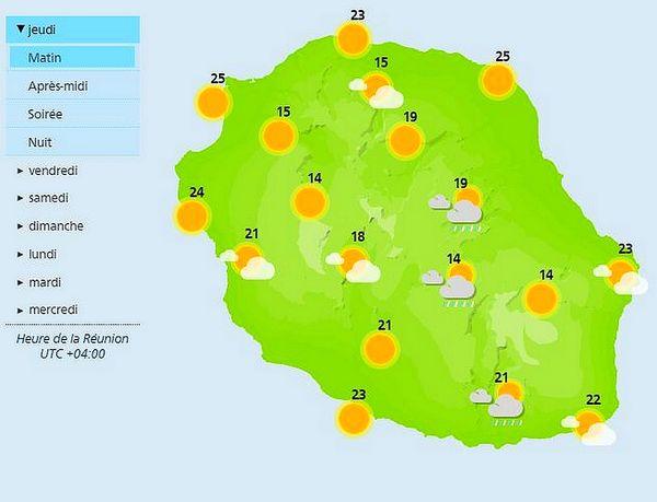 Carte météo 9 septembre 2021