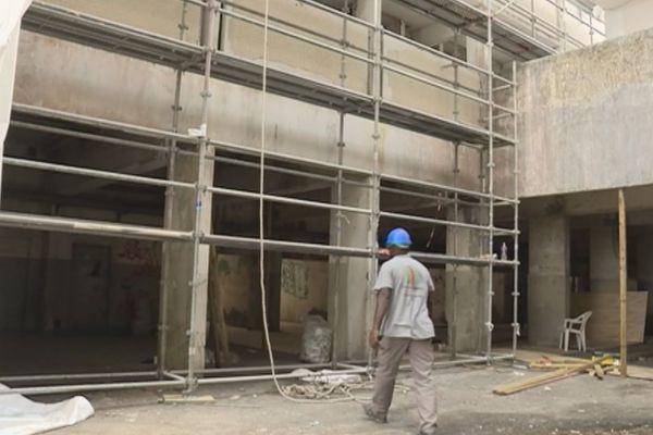 Préparation démolition immeubles capitaines
