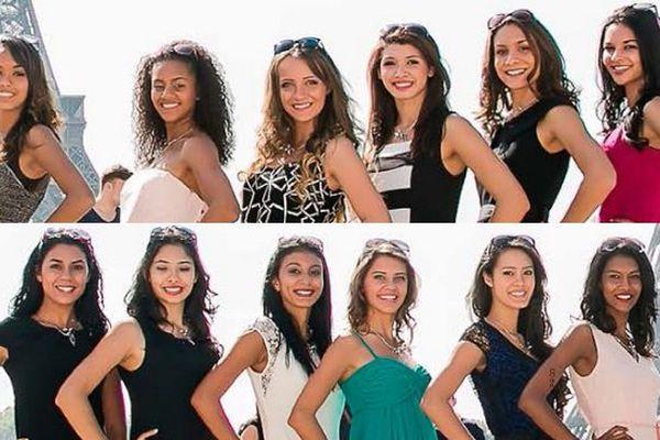 miss Réunion 2015 : les 12 candidates