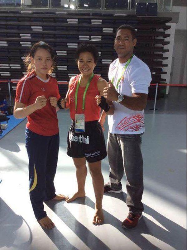 Anna Yon Yue Chong combattait en amateur