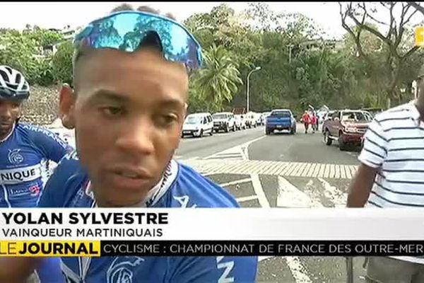 Cyclisme : Un Martiniquais remporte la première étape du championnat de France des outremers