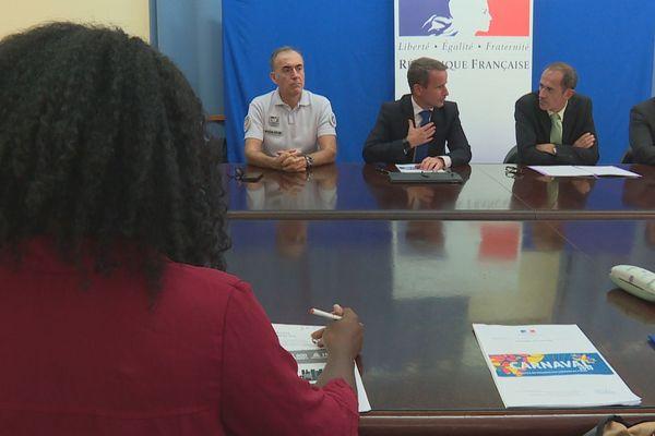 Pouvoirs publics en Martinique
