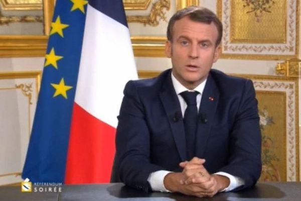 Macron référendum 2020