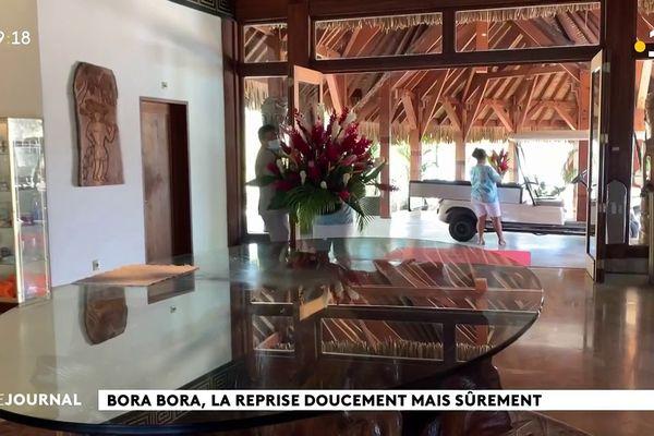 Timide reprise de l'activité à Bora Bora