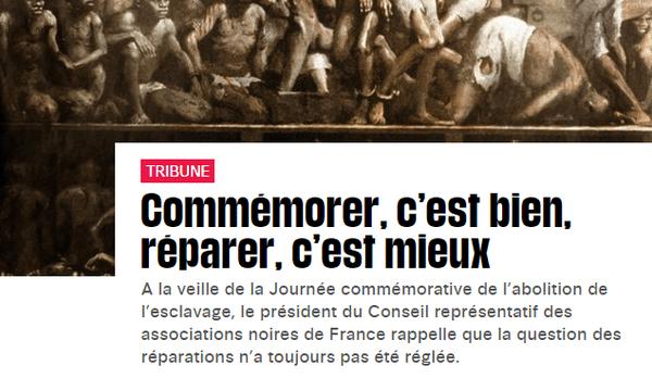Tribune dans Libération de Louis-Georges Tin du Cran