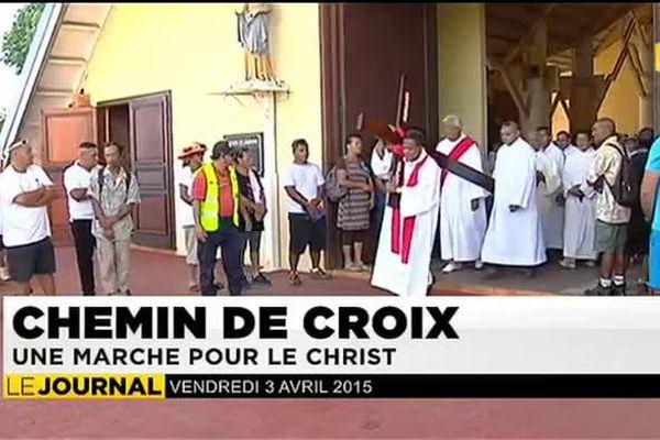 Pâques : chemin de croix, une marche pour le Christ