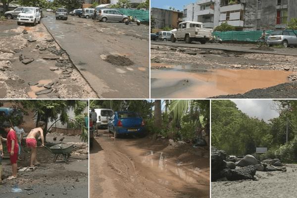 routes dégâts