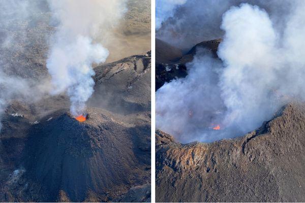 Eruption du Piton de la Fournaise 12 mai 2021