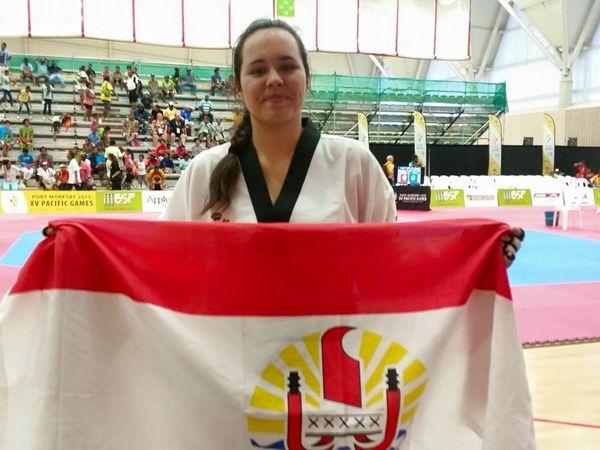 PNG2015 - Taekwondo : Moehau Faaite s'impose chez les +73kg
