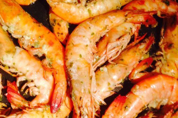Crevettes de Guyane composante du byala