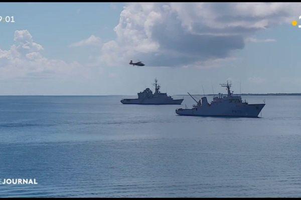 Un millier de militaires français et étrangers face à un cyclone fictif
