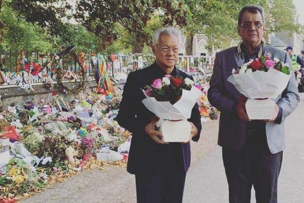 Fritch et Tong Sang rendent hommage aux victimes de Nouvelle Zelande