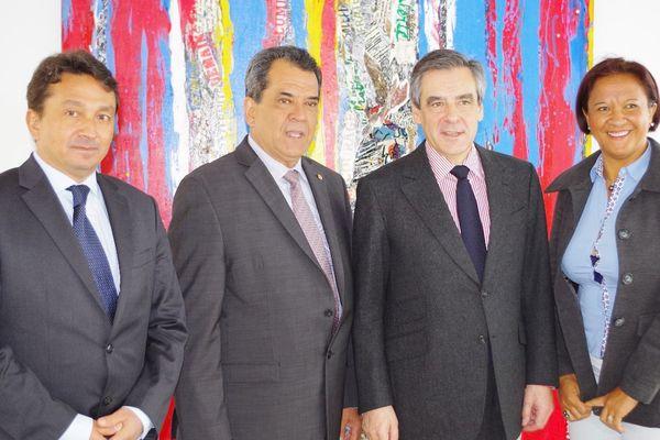 Edouard Fritch soutient François Fillon